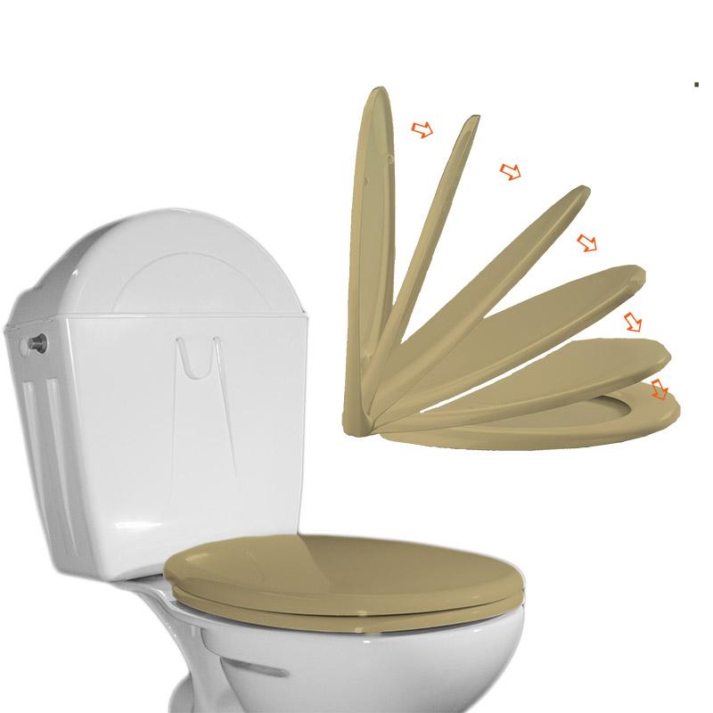 waterflush abattant wc avec frein de chute. Black Bedroom Furniture Sets. Home Design Ideas